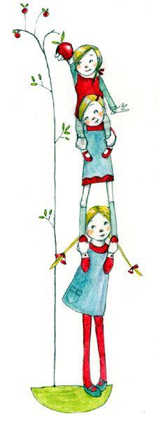Abigail Halpin - Illustration: Illustration Friday - Help