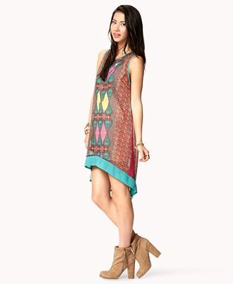 Chiffon Batik Dress