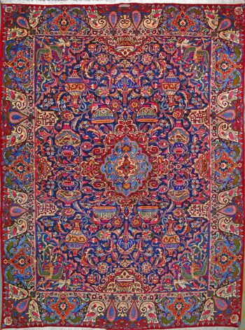 Kashmar Persian Rug X Authentic Handmade