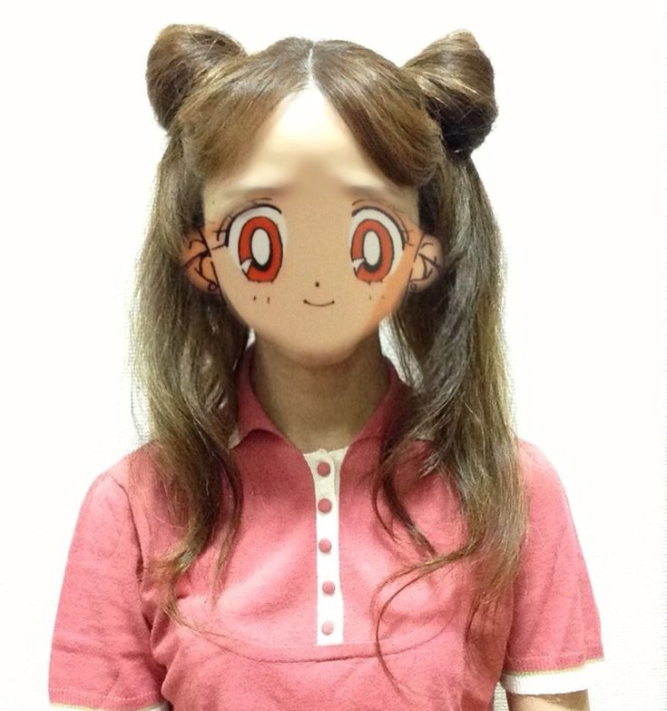 リアル髪型【ちびうさ、ルナ人間ver.編】 : あっちゃんの支離滅裂 ChibiUsa and Human Luna Hair tutorial