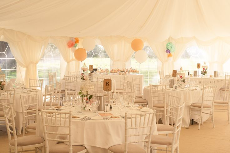 The Marquee @ Silchester House - #thehitchcockwedding
