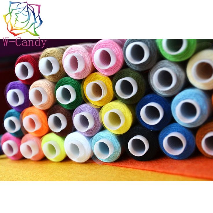 30pcs High quality polyester sewing threads colorful thread sewing supplies thread machine embroidery industrial wholesale