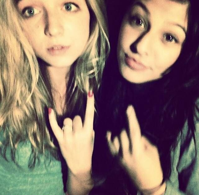 Photo of Hana Hayes & her friend   -