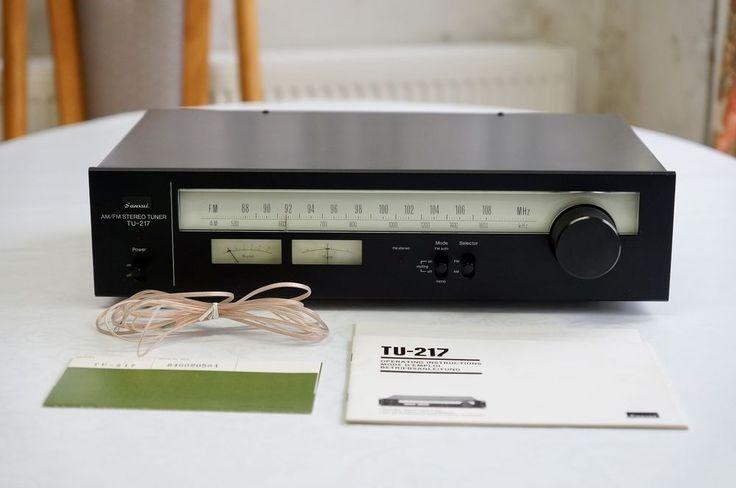 """SANSUI AM / FM Stereo Tuner TU-217 VINTAGE RETRO - """"EXCELLENT CONDITION"""" #Sansui"""