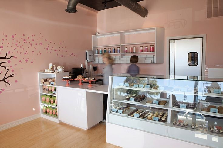 Bakery Shop Interior Decoration Of Cupcake Bakery Locally Owned Tu Lu S Gluten Free