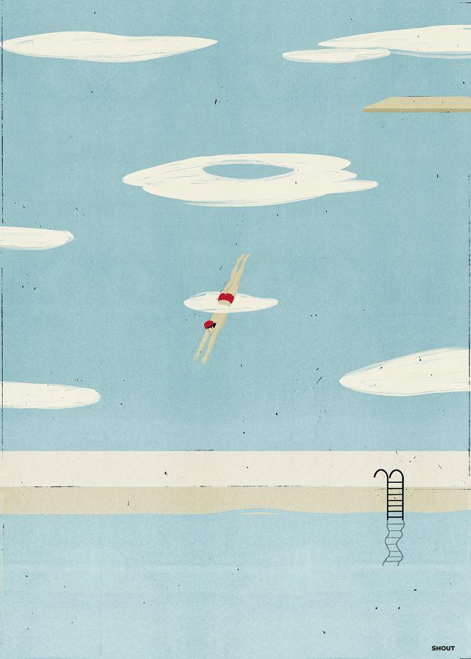piauí_98 [poesia]Do alto do trampolim o azul do azulejo confunde-se com o azul da água incolor.http://goo.gl/6aEQL9
