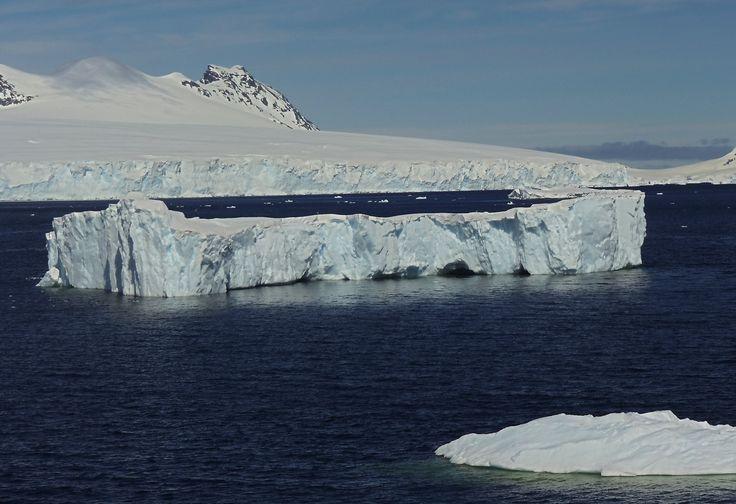 Iceberg, en la navegación al sur.