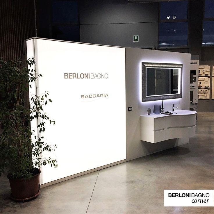 🚀🚀🚀 Col progetto #berlonibagnocorners, vi seguiamo in tutte le fasi di progettazione e realizzazione di spazi espositivi #berlonibagno nei vostri showroom!  Saccaria Idrotermosanitari espone #Memphis.