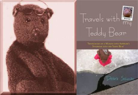 """This is such a sad story. Teddy Bear author's teddy stolen on train in Tanzania. http://www.bearsac.com/aboutme.htm  """"13th April 2013 Sad update I no longer have Bearsac. I have not had him for over a year now. On 3rd December 2011 he was taken from me. He was waving from the window of a train in Tanzania and a man grabbed him. I have not been updating the website much since so people are not going tot the diarys to find this out. So I put it here as this page is viewed more. Debra."""""""