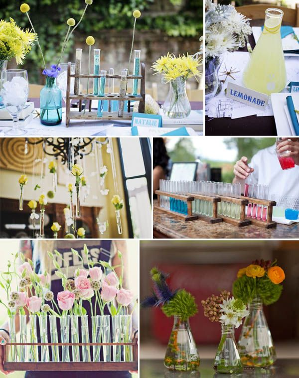 A Chemistry themed wedding? Haha. For some odd reason, this makes me smile.....what u think Morg?
