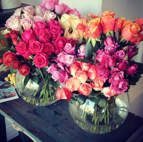 Flowers. Floras. Fleurs. Love!