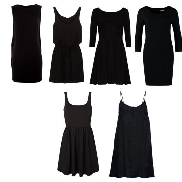 """Little Black Dress Natural Personality Style"" by silhouetteimage on Polyvore"