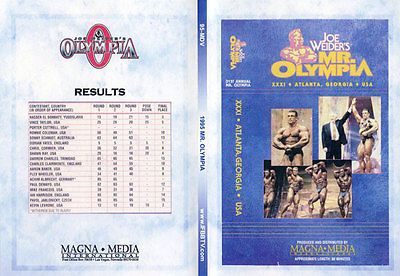 Joe weider's mr #olympia 1995 (1 dvd) #dorian yates bodybuilding + #restored phot,  View more on the LINK: 	http://www.zeppy.io/product/gb/2/302069579693/