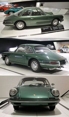 "1959 (or 1961) Porsche Type 754 ""T7"" - 4 seat prototype leading to the 911"