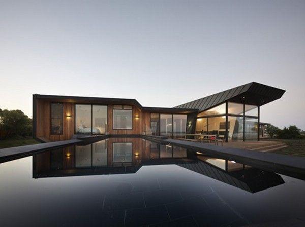 Origami beach house: Bkk Architects, Dreams Home, Beaches House, Dreams House, Victoria Australia, Architecture, Cool House, Pools, Modern House