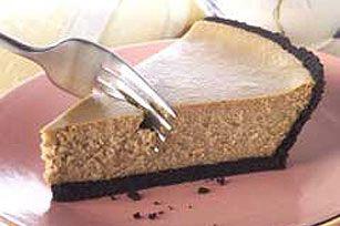 PHILADELPHIA® 3-STEP® Cappuccino Cheesecake Recipe - Kraft Recipes - looks so easy and tasty!