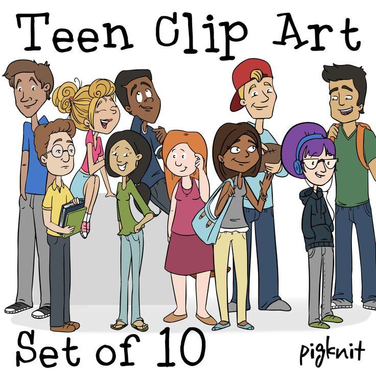 Clip Art Teen 52