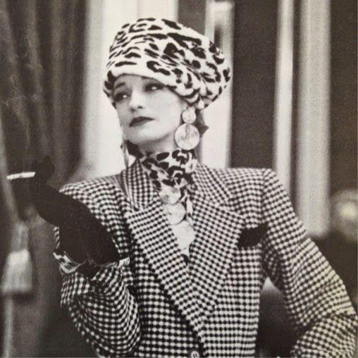 Yves Saint Laurent Couture 1980's Lolou de la Falaise