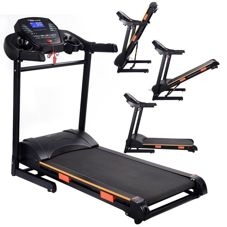 Home Gym Equipment Electric Treadmill Folding Fitness Workout Running Machine #HomeGymEquipment