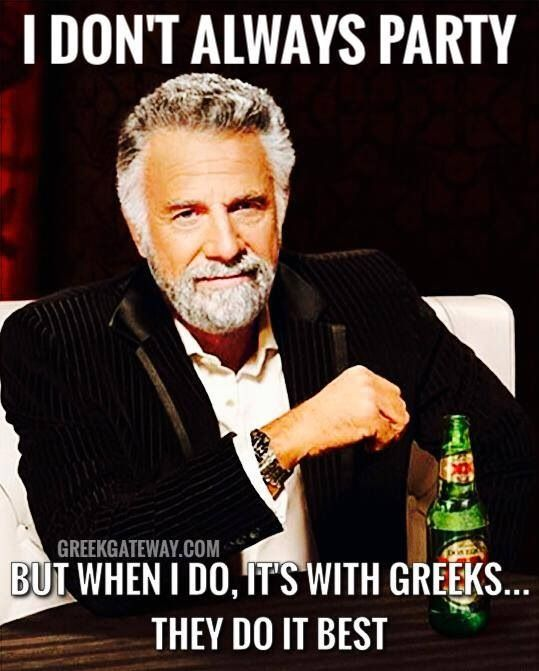 Hahaha, The Most Interesting Man In The World knows what's up!
