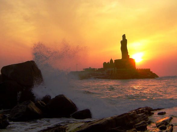 Kanyakumari, Tamil Nadu   Sunrise And Sunset Points In India That Will take Your Breath Away