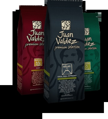 Juan Valdez, Colombian coffee