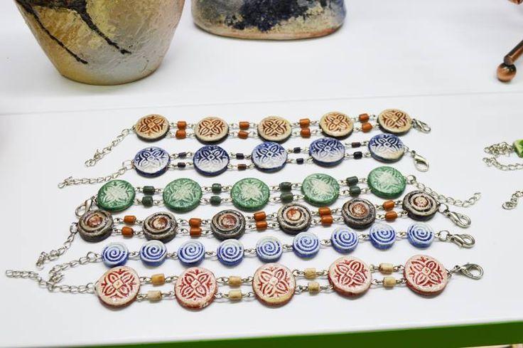 Изысканные украшения из керамики. Refined jewelry from ceramics.