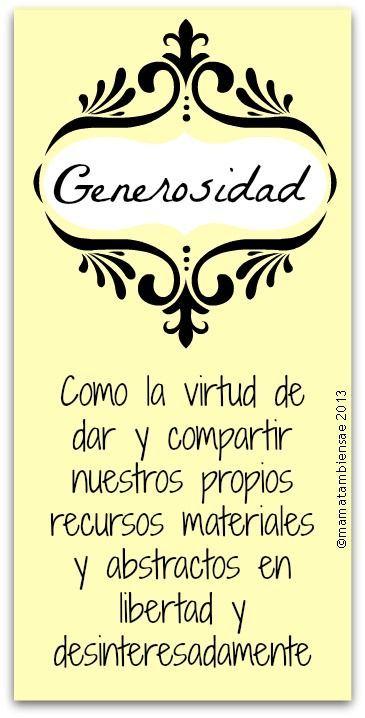 Frases Con Humor: Generosidad La Virtud De Dar Y Compartir - http://alegrar.me/frases-humor-generosidad-la-virtud-dar-compartir/