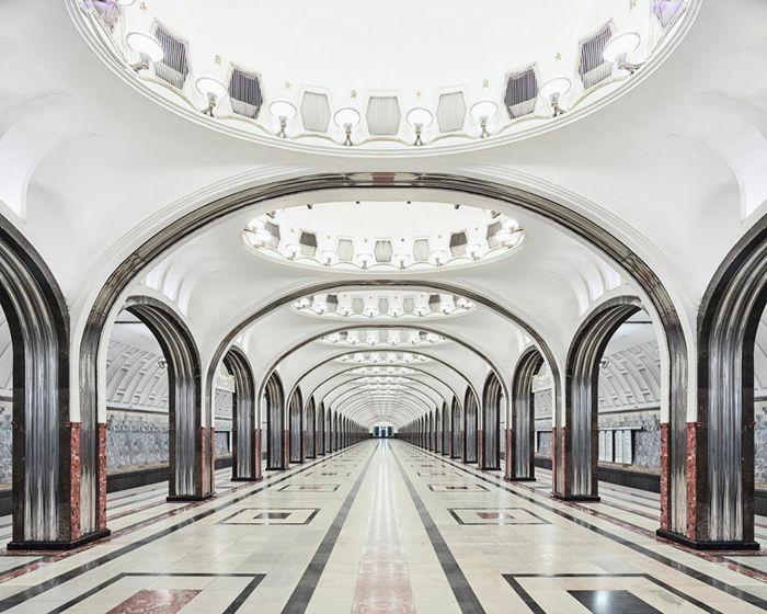 U-Bahn Moskau Haltestelle