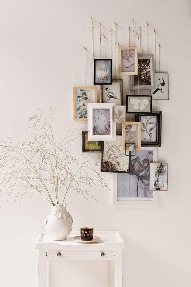Eine komplette Anleitung für Sie, um ein Wandgemälde mit Bildern an der Wand zu montieren