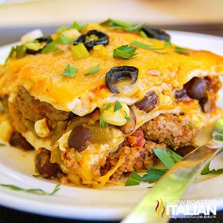 Mexican Lasagna (With Video)