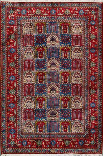 "Yazd Persian Rug - 6' 5"" x 9' 6"""