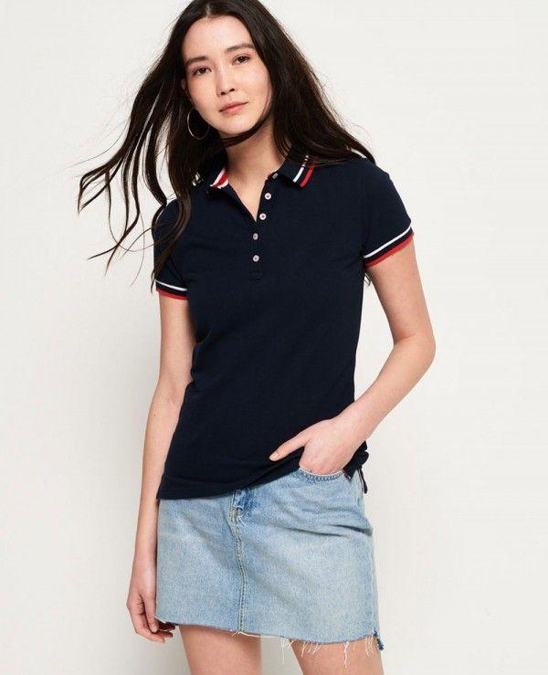 26eb601abe Pin by About Apparels on Women Polo Shirts | Polo shirt women ...