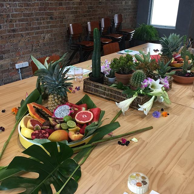Ready for our Tropical Fiesta  #thewindsorworkshop