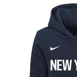 new concept f01b5 dad3a New York Knicks Nike City Edition Essential Logo Hoodie ...