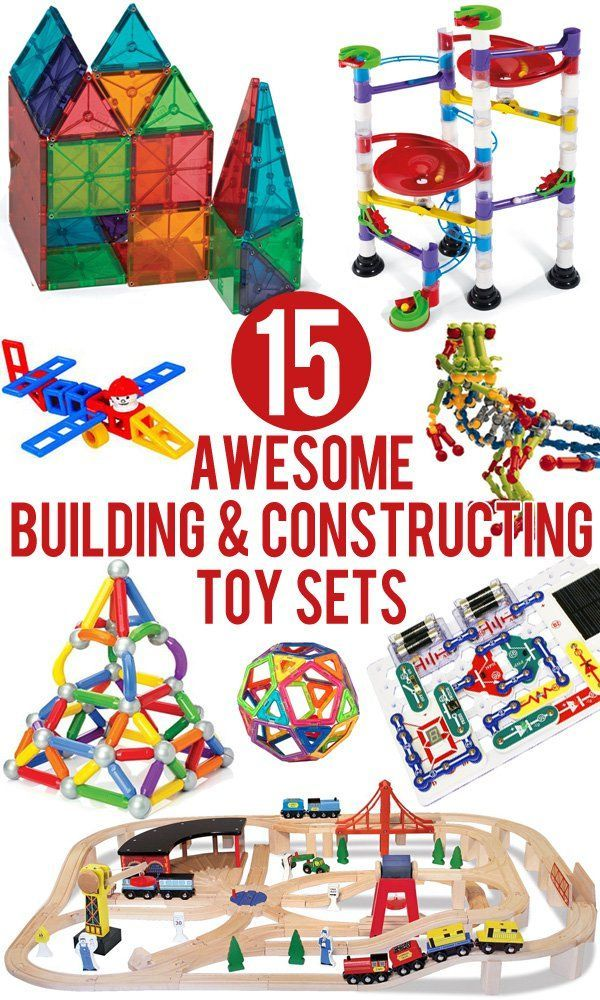 15 Awesome Building & Constructing Toy Sets for Kids