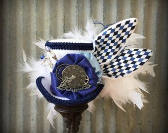 Mini sombrero de Copa sombrero de Copa de la reina por ChikiBird