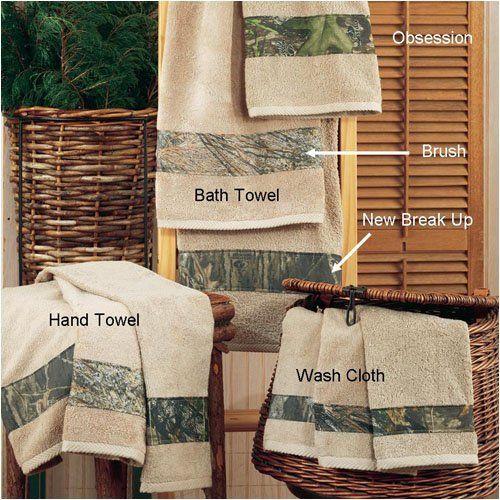 Mossy Oak Camo New Break Up Wash Cloth By All Seasons Bedding