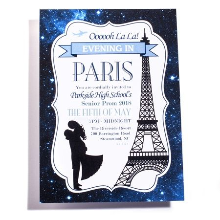 Dreaming of Paris Invitation