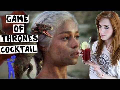 How to make the Game of Thrones Cocktail - Tipsy Bartender - YouTube
