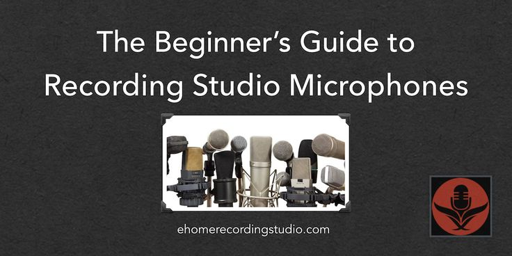 Starting a studio? But don't know jack about mics? In this article, I cover the essential recording studio microphone types every beginner should know.