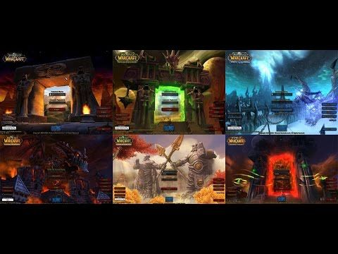 World of Warcraft : all login screens Vanilla to Legion [Soundtrack] - Best sound on Amazon: http://www.amazon.com/dp/B015MQEF2K -  http://gaming.tronnixx.com/uncategorized/world-of-warcraft-all-login-screens-vanilla-to-legion-soundtrack/