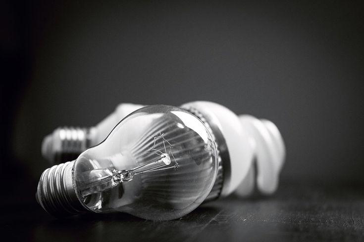 Zielony Zagonek » Light bulb and her dark side