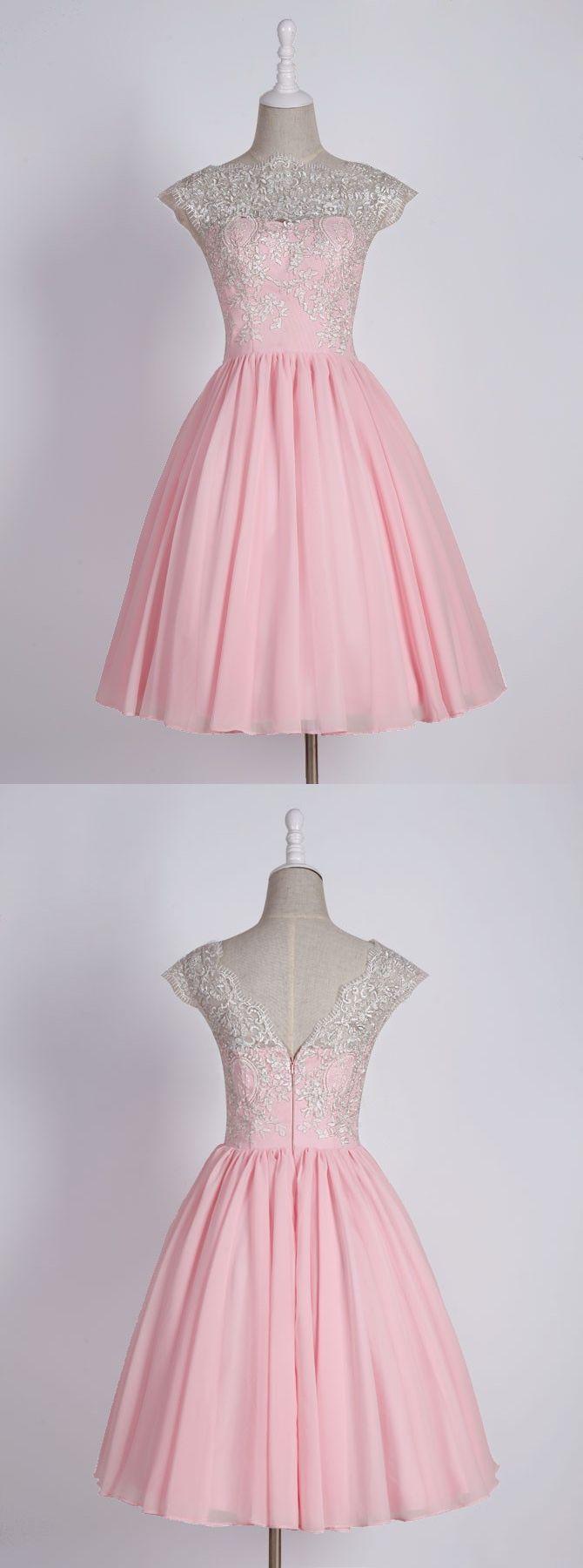 pink homecoming dresses,short homecoming dresses,lace homecoming dresses,cute homecoming dresses