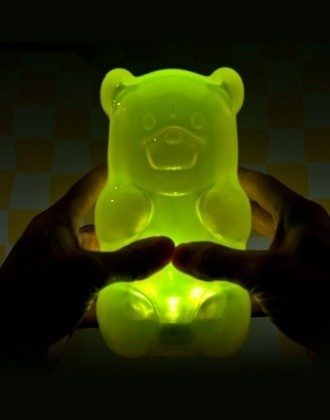 Gummy Bear Night Light - press the belly to turn on/off