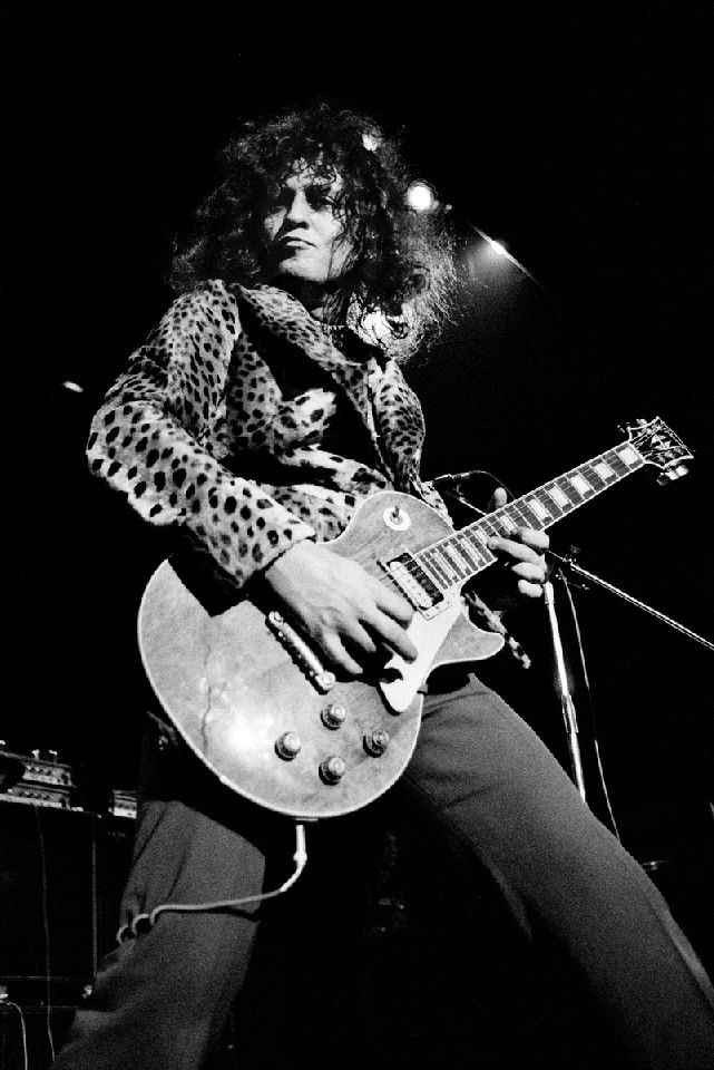 T-Rex (Marc Bolan)  Photographer: Jorgen Angel  Location: Copenhagen Date: 1973