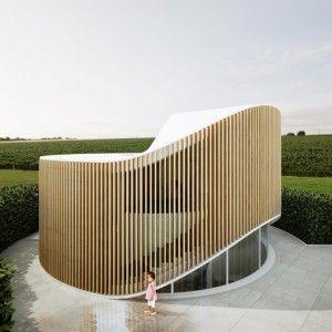 Penda's doughnut-shaped House O  is based on the form of a tree stump