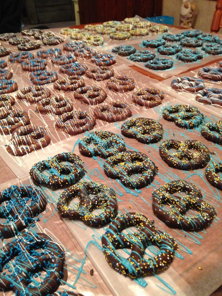 Dipped Pretzels For Baby Shower Sorepointrecords