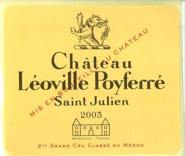 Chateau Leoville Poyferre, Saint-Julien, France