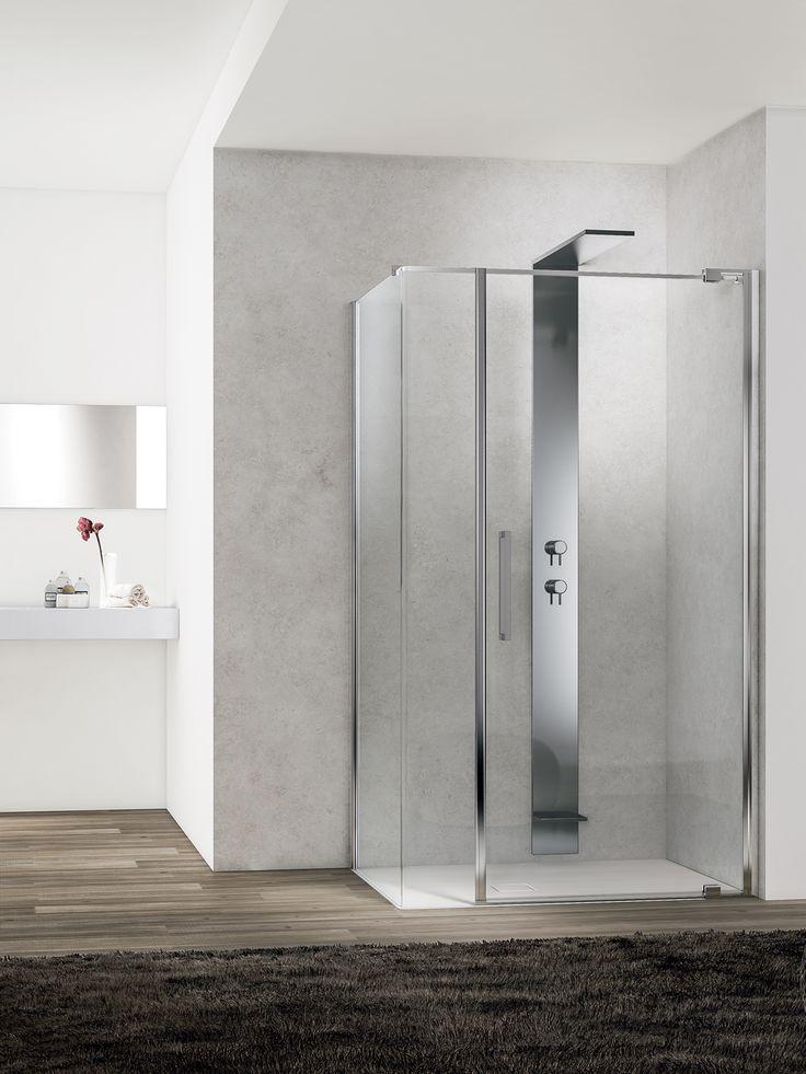 Alcuni consigli su come scegliere il box doccia ideale in base alle esigenze di spazio, funzionalità e design. Cabine doccia a battente, soffietto o aperte.